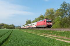 101 007 mit Intercity in Unterhaun (_VT2E_) Tags: 101 ic db
