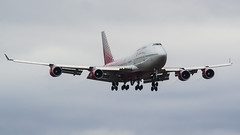 EI-XLH Rossiya - Russian Airlines Boeing 747-400 (natan_ivanov83) Tags: vko vnukovo uuww spotting boeing boeing747