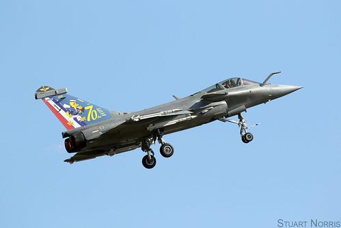 Rafale M 5 - Landivisiau Naval Air Base