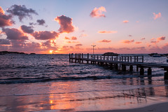 Days End (Jared Beaney) Tags: canon6d canon australia photography photographer travel sunset rottnest rotto island islands westernaustralia geordiebay beach boardwalk jetty ocean water waves clouds bay cove