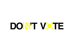 Don't Vote (Kwik Gambino) Tags: kwik graphicsbykwik kwikgraphics logodesign adobeillustrator vectorart portland oregon freelancer graphicdesign logochallenge kwikbrand photography logodesigner dontvote