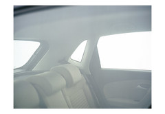 (harald wawrzyniak) Tags: analogue analgo film scan kodakportra portra kodak haraldwawrzyniak harald wawrzyniak austria white light scifi car volkswagen vw 2013 mamiya 645af mediumformat
