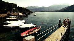 Lenno (BrigitteChanson) Tags: lenno lario como lac lago lake montagnes lombardia italie italia tremezzina