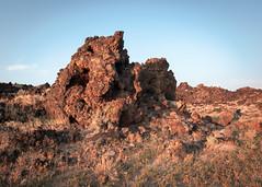 Lunar Crater Lava Bed (dwblakey) Tags: blm rockpile landscape desert roadtrip outdoors nevada lava evening lunarcraterlavabed rocks tonopah unitedstates us