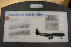 NASM_0277a Arado Ar-234B Blitz jet bomber (kurtsj00) Tags: nationalairandspacemuseum nasm smithsonian udvarhazy arado ar234b blitz jet bomber