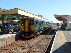 150202 Okehampton (2) (Marky7890) Tags: gwr 150202 class150 sprinter 2k04 okehampton railway devon dartmoorrailway train