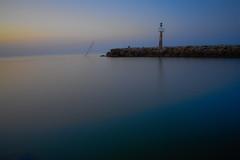 Digue des Ayguades (LichardPictures) Tags: nuit digue mer eau plage paysage phare ciel bleu bateau pierre