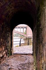 Through The Arch (jacscot) Tags: berwick upon tweed arch shadow viaduct bridge fujifilm xt1
