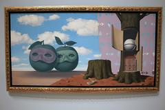Le domaine enchante V (The Enchanted Domain V), by Rene Magritte (JB by the Sea) Tags: sanfrancisco california july2018 financialdistrict sanfranciscomuseumofmodernart sfmoma renemagritte surrealism surrealist painting