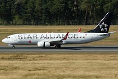 Turkish Airlines | Boeing 737-8F2 | TC-JHC | NUE/EDDN | 2018-08-11 | Star Alliance c/s | cn 35742 (airbus-a340) Tags: nue eddn albrecht dürer albrechtdürer nürnberg nuremberg germany airport flughafen flugplatz aircraft spotter airfield aviation plane planespotter turkish airlines turkishairlines boeing 7378f2 boeing7378f2 star alliance cs cn35742 staralliancecs tcjhc 20180811