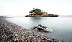 Little Island (neya25) Tags: island insel strand beach olympusomdem10 mzuiko 918mm graufilter longexposure