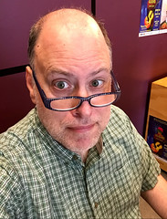Day 2379: Day 189: Box office face (knoopie) Tags: 2018 july iphone picturemail doug knoop knoopie me selfportrait 365days 365daysyear7 year7 365more day2379 day189