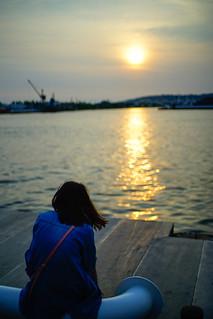夕陽時刻|高雄 光榮碼頭
