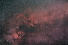 colours of Cygnus (Dawebestwick) Tags: ngc7000 star cluster stars wide field canon astrophotography astro astroimage backyard astronomy slovakia nebulae red haplha ic1318