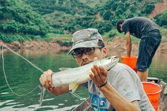 DSC_0195 (photogonia) Tags: ningyu flyfishing fishing tip fly line cina hunan xiangxi huaihua mayang game fish lake simms rod yellowcheek catch pesca angler