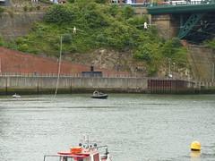 P1080830 - 2018-07-12 - Sunderland - Tall Ships (GeordieMac Pics) Tags: ©2018georgemcvitieallrightsreserved sunderland tall ships july 2018 panasonic lumix dmc fz200 wear water walkers river boat tightrope cirquebijou