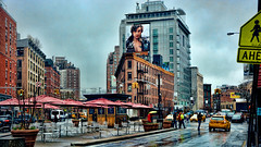 After the rain (Miradortigre) Tags: nyc newyork newyorkcity nuevayork usa street calle