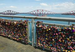 A whole lotta love (wwshack) Tags: forthroadbridge lothian scotland padlock