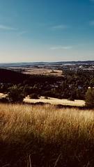 Trans Europe Express (NFW) Tags: summer germany saxony goslar heat fields landscape view