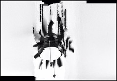 Ceiling fan abstract ( series #3) (Bob R.L. Evans) Tags: black white gray tones composition unusual dada abstract ceilingfan