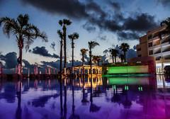 Alexander The Great Pool (tubblesnap) Tags: holiday vacation cyprus panasonic lumix tubblesnap alexander the great swimming pool reflection colours colors