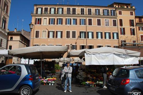 Майдан квітів, Рим, Італія InterNetri.Net 124