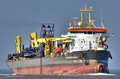 Willem van Oranje (Bernhard Fuchs) Tags: boat cargo cuxhaven elbe nikon saugbagger schiffe ship ships vessel water bagger schwimmbagger boot schiff wasser arbeitsschiff arbeitsschiffe