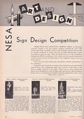 Signs of the Times - April 1962 - NESA Contest Winners (hmdavid) Tags: signsofthetimes magazine nesa design competition april 1962 contest winners bowling signs