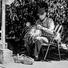 ...espartero... (puesyomismo) Tags: esparto espartero artesano artesania blanco negro bn silla arbol anciano artisan artisanat blanc noir chaise arbre aîné handwerker handwerk weis schwarz stuhl baum holunder crafts white black chair tree elder
