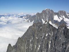 Mont Blanc Area view of the Alps (Jonathon Bennett Photos) Tags: montblanc chamonix ski sky frenchalps swissalps chamomix