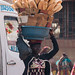 Korhogo morning - bread vendor