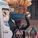 Korhogo morning - bread vendor