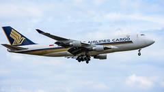 Singapore Airlines Cargo (lee adcock) Tags: 747 9vsfk b744 dsa runway20 sia7368 singaporeairlines airplane boeing cargo nikon70200f28vri nikond7200 tc14