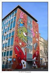 2018.04.18 Streetart 9 (garyroustan) Tags: paris france french iledefrance ile island building architecture ville ciudad city life art streetart