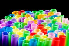 "Plastic Drinking Straws (roseysnapper) Tags: ""macromondays"" nikkor105mmmicrof28 nikond810 closeup drinkingstraw focusstack naturallight windowlight macro plastic straw"