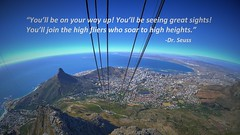 View from Table Mountain (hitennaik) Tags: table mountain cape town south africa dr seuss oh places youll go