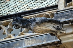 Gargoyles - 2 (fotomänni) Tags: prag praha prague veitsdom gargoyles gargouille wasserspeier skulptur skulpturen sculpture kunst manfredweis