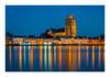 Blue Hour Dordrecht (jos.pannekoek) Tags: city haven oud kerk church cityscape bluehour longexposure d500 light dordrecht stad