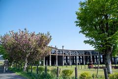 Bungomori Roundhouse (yukilanieve) Tags: 豊後森 bungomori kusu 玖珠 roundhouse pentax kp oita kyushu japan 大分 九州 豊後