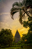 Morning View of Prambanan Temple (Rendy Rijanto Pilinaung) Tags: jogja landscape sunrise indonesia visit jawa tengah prambanan temple budha point view