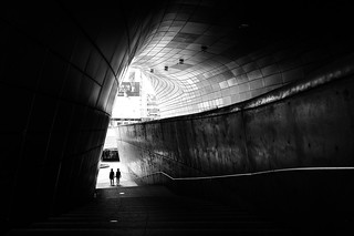 Design Plaza - Seoul, South Korea - Black and white street photography