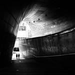 Design Plaza - Seoul, South Korea - Black and white street photography thumbnail