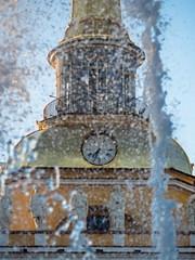 Stopping the time (pilot3ddd) Tags: stpetersburg admiralty fountain clocks olympusomdem5markii olympusmzuiko40150mm