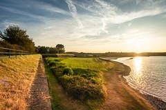 Veere (Omroep Zeeland) Tags: bastionl veere zonsondergang gras stenen water meer zand