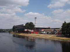 City Ground (lcfcian1) Tags: nottingham river trent football stadium forest nottinghamforest cityground rivertrent