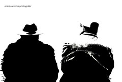 Alone (Ecinquantotto (+ 1.890.000 views !!! GRAZIE) Tags: rome roma reflex bn bw blackwhite d3000 italia italy italybn immagination nikon