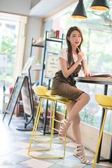 DSC_5472 (Robin Huang 35) Tags: 黃艾比 艾比 abbie 金獅取水 咖啡廳 人像 portrait lady girl nikon d850