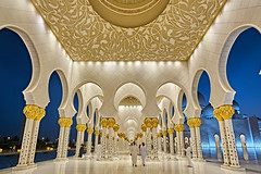Sheikh Zayed Grand Mosque - Abu Dhabi (Joao Eduardo Figueiredo) Tags: sheikhzayedgrandmosque abudhabi sheikh zayed grand mosque abu dhabi nikon nikond850 joaofigueiredo joaoeduardofigueiredo united arab emirates unitedarabemirates uae muslim worship religion reflection