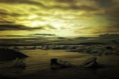From Iceland. (Tóta. 27.12.1964.) Tags: landscape jökulsárlón clouds water iceland ísland