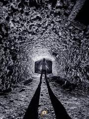 Light at the end of the tunnel... (Javichu Fotografia) Tags: night light dark darkness oscuridad nocturna linterna lanterns lightpainting fotografianocturna nighttime nightshoot nightphotography nightphoto noche largaesposicion longexposure zuikodigital olympus olympusphotography
